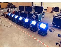 Lyre et projecteur DTS IP65 - DELTA R