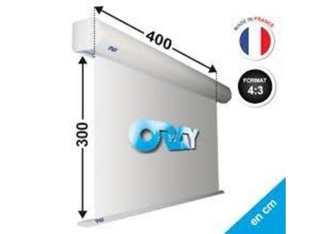 Vend écran motorisé 4m / 3 m Oray