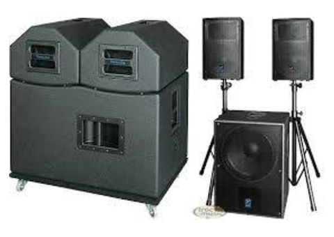 Location Système Yorkville 2000 watts