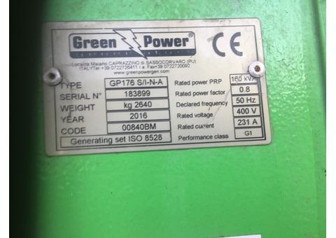 groupe électrogène 175 KVA neuf