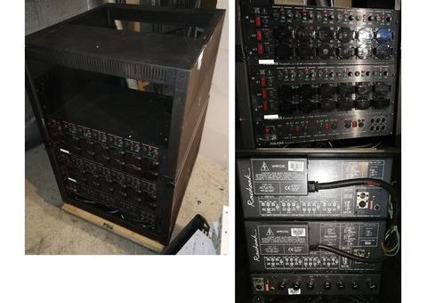 Gradateurs Pulsar 6 x 10AMP + accessoires