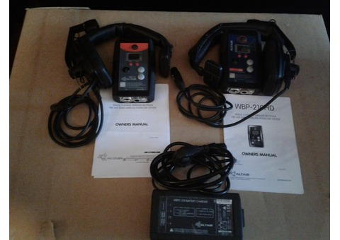 INTERCOM HF BOITIERS CEINTURES WBP-210 HD ET WBP-210 + 2 CASQUES