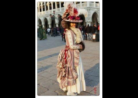 robe a l'Anglaise style XVIIIe