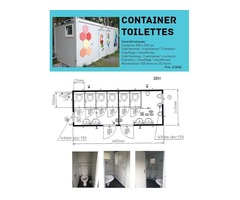 Container Toilettes