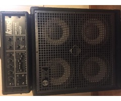 Baffle SWR 4x10T + tête ampli KMD 130