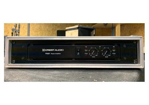 Amplificateurs CREST FA601