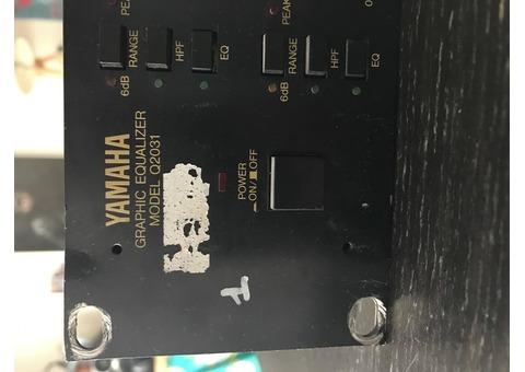 Equalizer Yamaha Q2031