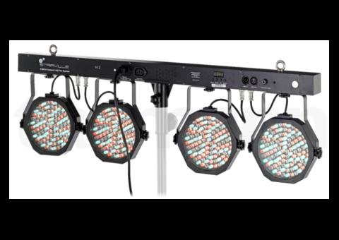 Deux rampes d'éclairage à LED Stairville CLB 2.4